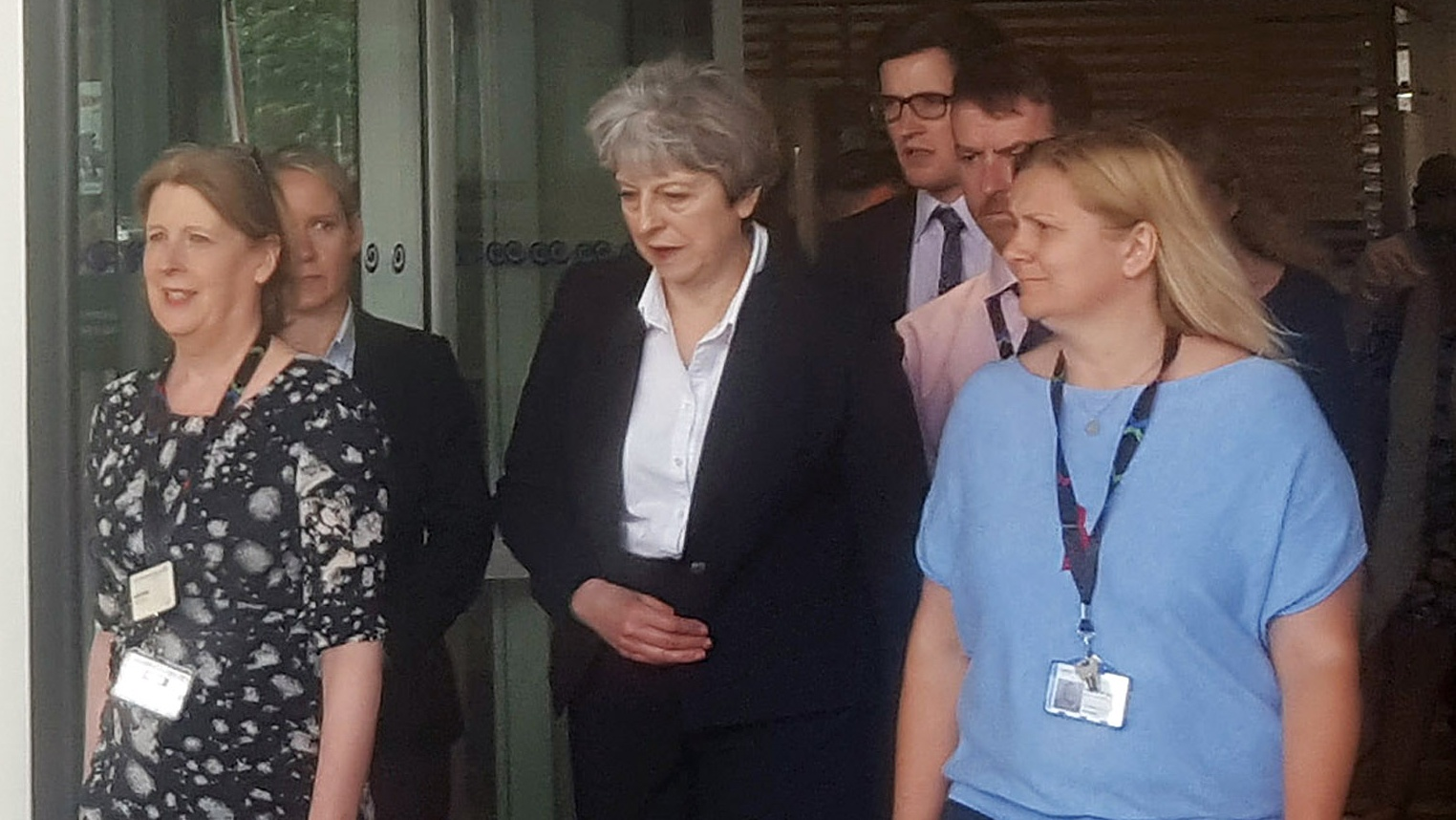 Theresa May 'welled up' at meeting with Grenfell fire survivors